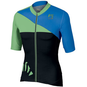 Karpos Verve SS Jersey Men, bluette/black/green fluo